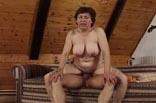 Oma Hanna wird gefickt