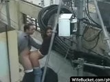Sex auf dem Dach