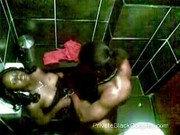 Blacksex auf der Toilette