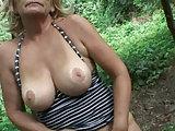 POV Omasex mitten im Wald