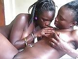 Afrikanischer Lesbensex