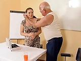 Opa fickt Schwangere