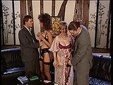 Versaute Orgien im Vintage Porno von 1994