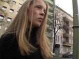 Geile Blonde vom Straßenstrich