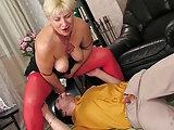 Sexgeile Russin erwischt Spanner