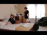 Stewardessen im Hotel