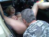 Taxifahrerin Frau Schulz fickt den Prüfer