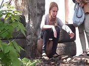 Pissende Frauen heimlich gefilmt
