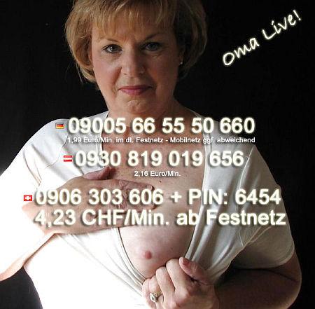 Reife Frauen und Oma Telefonsex